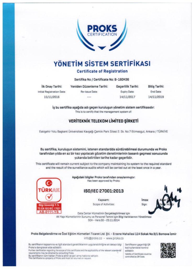 VeriTeknik ISO 27001